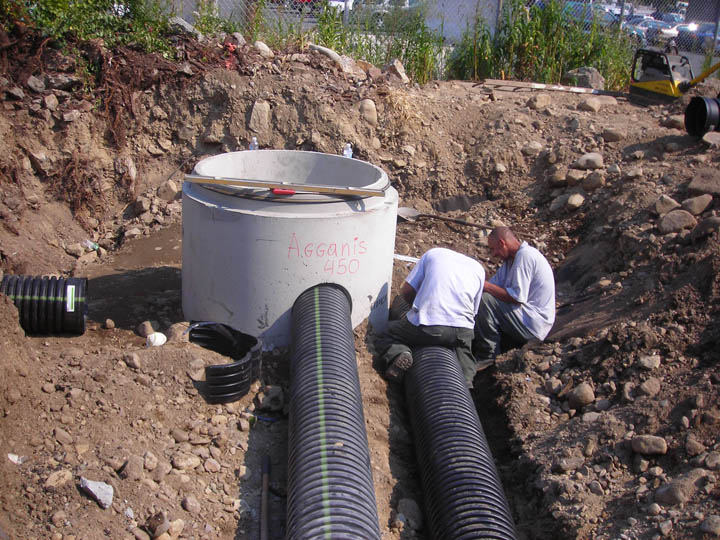 Agganis Construction Water Sewer 04